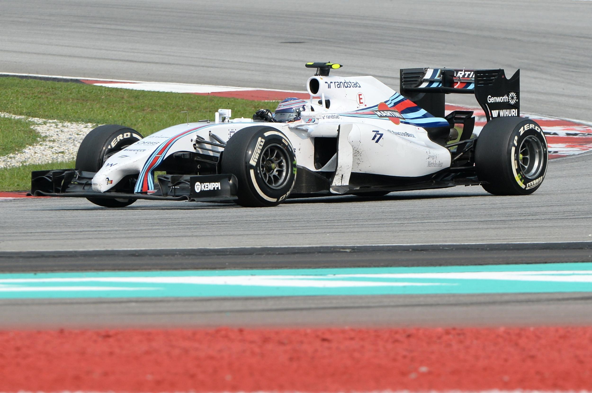 Bottas Malaysia 2014 Williams
