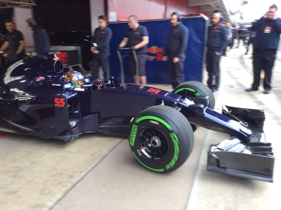 Toro Rosso STR11 couleur essais