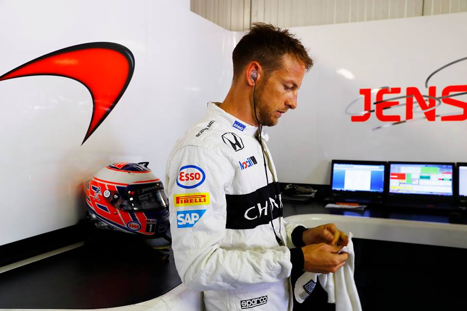 Jenson Button 2016