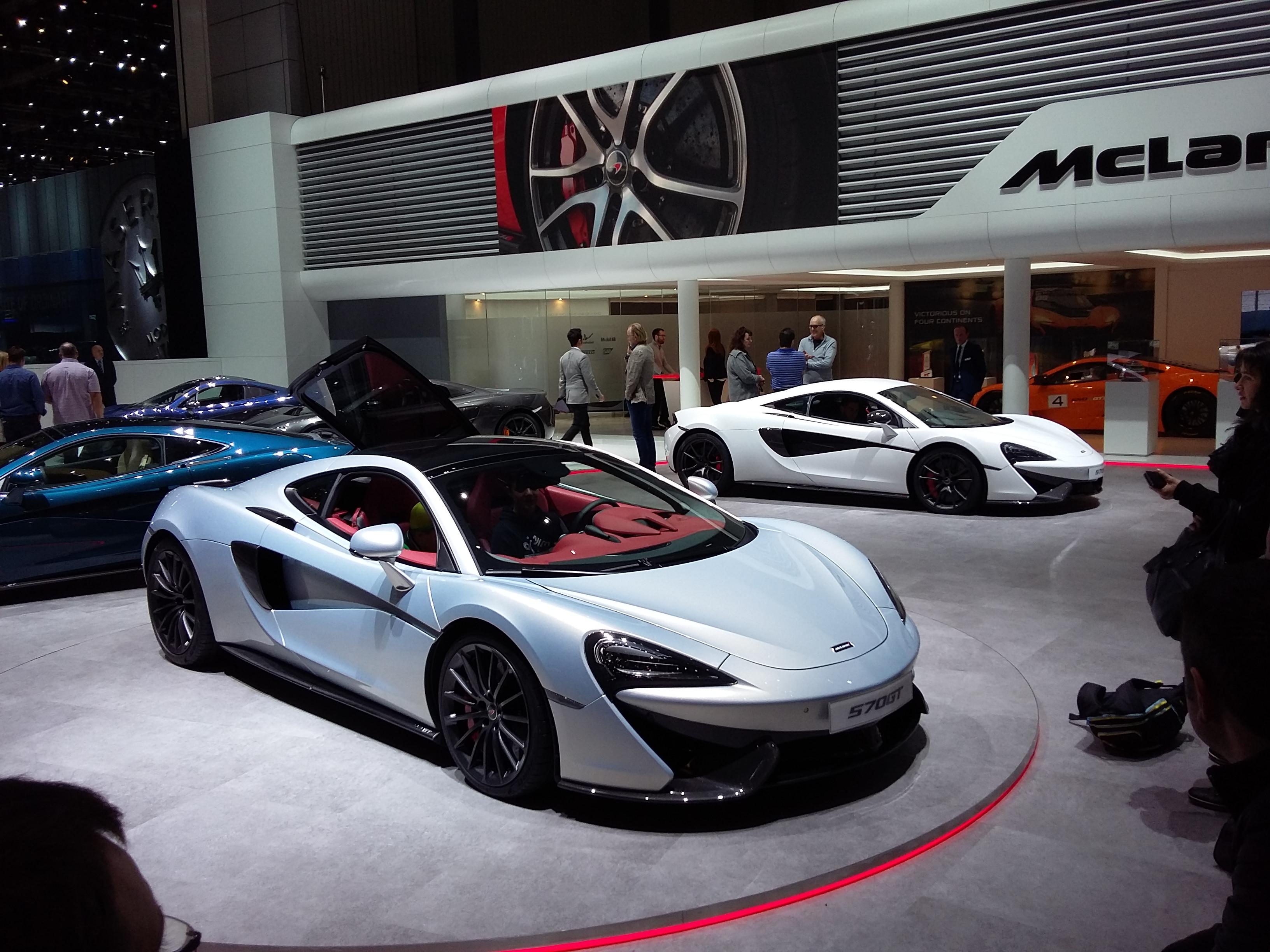 McLaren 570 GT Geneva Expo