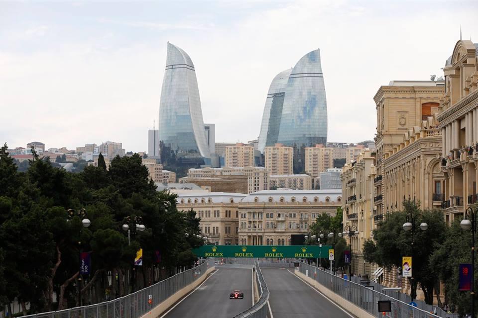 Bakou Europa GP F1