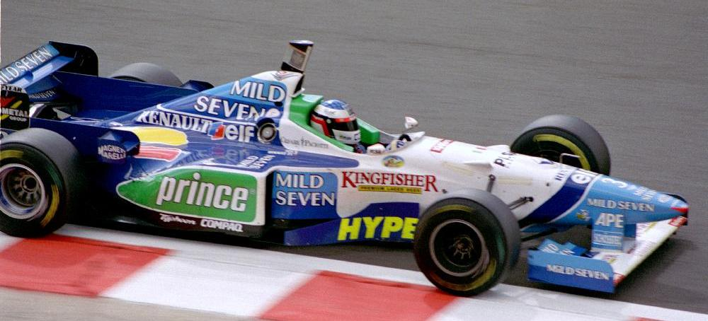 Jean Alesi Benetton B196